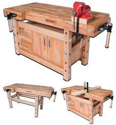 Workbench With Storage, Diy Garage Storage, Woodworking Workbench, Woodworking Projects, Wood Shop Projects, Got Wood, Shop Layout, Diy Home Decor, Workbenches