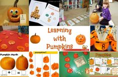 25 Learning activities with Pumpkins