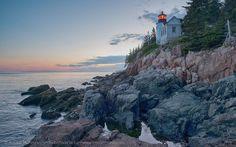 Faro de Bass Harbor, Acadia National Park, Maine