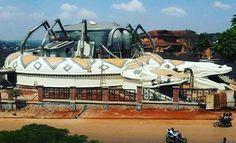 Connaissez-vous ce musée ? Indice : Force & Sagesse au peuple 💪🏾🙏🏽 #Africa #CentralAfrica 🕋🌍🌍🕋