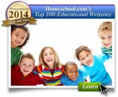 Homeschool.com - The #1 Homeschooling Community has released it's Top 100 Websites List for 2014!