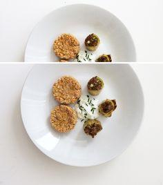 Small lentil flat cakes & filled leek (mince, veggies)  #FOODTIPS #FOOD #CATERING #FOODGASM #FOODPORN #NOMNOM #TASTY #TASTYRECIPE #EASYCOOKING #COOKEASY