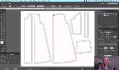 Digital Pattern Drafting with Adobe Illustrator