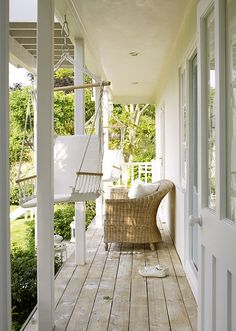 Check out these porch swings...fab!