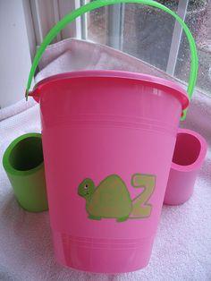 Delta Zeta turtle bucket