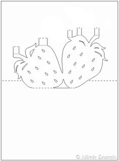 strawberry pop-up