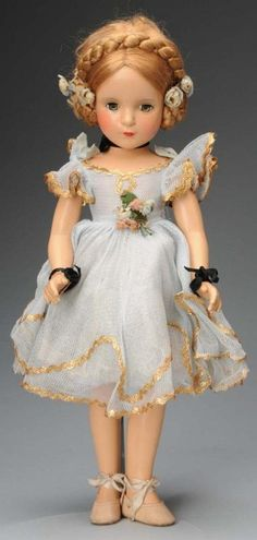 "988: Madame Alexander ""Karen Ballerina"" Doll. : Lot 988"