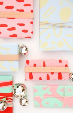 5 Minute DIY to Try: Leather Wrapped DIY Gift Wrap for the Holidays - Paper and Stitch