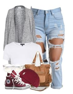 """""""We can take our time, baby."""" by cheerstostyle ❤ liked on Polyvore featuring Acne Studios, Topshop, Wildfox, T-shirt & Jeans, Converse, women's clothing, women, female, woman and misses"""