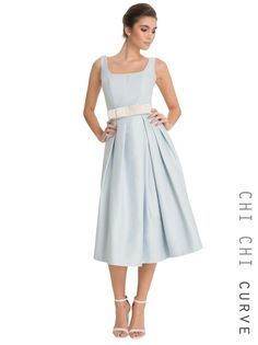 93f40932b5   Chi Chi London Scoop neck midi dress - View All Dresses - Dresses -