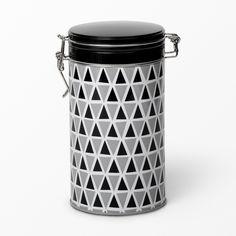 Kaffeburk Tom triangel, 1,5 l, grå