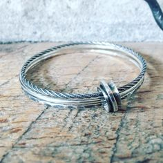 A personal favorite from my Etsy shop https://www.etsy.com/listing/266449405/bangles-trio-set-sterling-silver