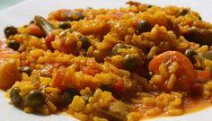 Con esta saludable receta podrás degustar el mejor arroz acompañado de verduras.