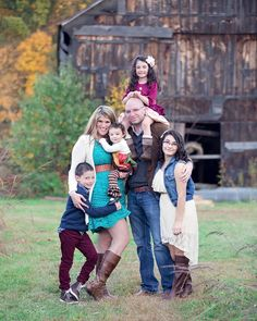 Family photography pose idea