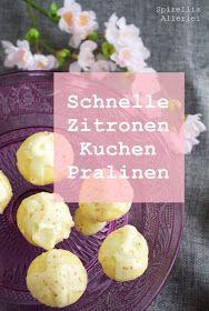 Spirellis Allerlei - Zitronen Cakepops mit Frischkäse