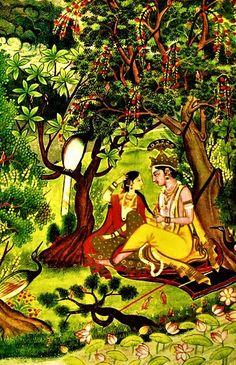 Krishna Lila, Radha Krishna Wallpaper, Krishna Images, Hindus, Indian Gods, Osho, Psychedelic, Canvas, Painting