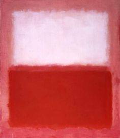 White Over Red Mark Rothko · 1957