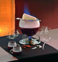 Kela 66160 Glas Feuerzangenbowle-Set Heinz Rühmann: Amazon.de: Küche & Haushalt