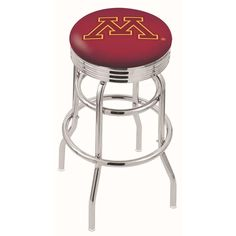 Classic Minnesota Golden Gophers Swivel Bar Stool
