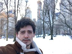 Aneurin in central park NY