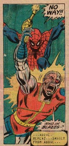 Deathlok & Spider-Man in Marvel Team-Up vol 1 #46   Art by Sal Buscema & Mike Esposito