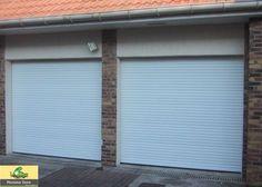 Pour une utilisation optimale de l'espace, la porte de garage enroulable Rollmotion s'adapte à toutes les dimensions.
