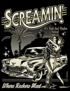 Screamin' Festival 2015, art by Nano Barbero. www.nanobarbero.es