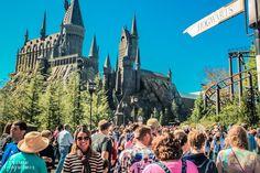 Parques de Orlando Castelo de Hogwarts