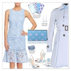 """Le Bleu Joyeux"" by atelier-briella ❤ liked on Polyvore featuring Aqua, Cutie, Rina Limor, Miadora, Janice Zethraeus, Betsey Johnson, Music Notes and Sif Jakobs Jewellery"