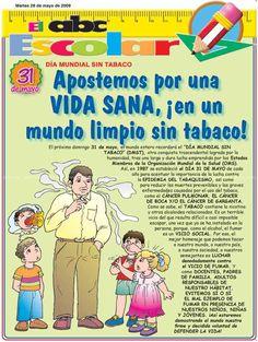 Apostemos por una vida sana en un mundo limpio sin tabaco.