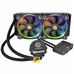 Thermalteke - liquid cooling - Wasserkühlung - all in one wasserkühlung - RGB fans