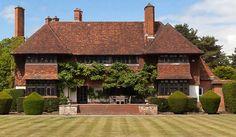 Designed by Sir Edwin Lutyens - Crooksbury House, Tilford, Farnham, Surrey, South East England