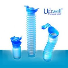 The Uriwell personal toilet is a unique portable urinal with 9 years of research and development. Ideal item for someone rehabilitating, or to have around just in case if an emergency. Corrugated shape allows the retract ability.