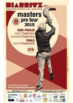 Masters pro : #pelote #basque à Cesta Punta, finale, ce soir dès 21h, fronton Euskal Jaï #Biarritz 0559239109