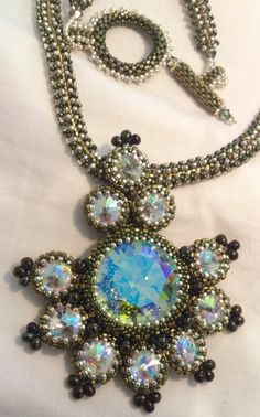 Lady Madeleine's Necklace design by Helena Tang-Lim, made by Yolanta Olesinski.