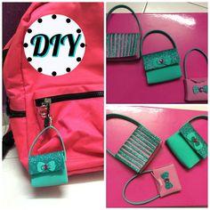 DIY- Adorable Mini Handbags for Lipstick /Coin purse/ Keychain fo...