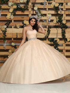 bf005ee0e90 Quinceanera Dress  80430  QuinceaneraMall  QuinceaneraDress   davincicollection Quinceanera Dresses