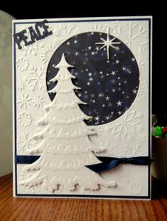 Silent Night by bookmama - Cards and Paper Crafts at Splitcoaststampers
