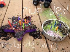 Birthday mud pies!