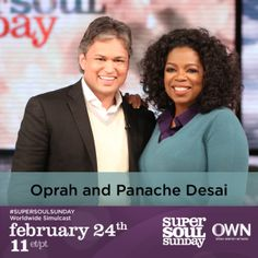 @OprahWinfrey sits down with @Rising Phoenix Desai on #SuperSoulSunday