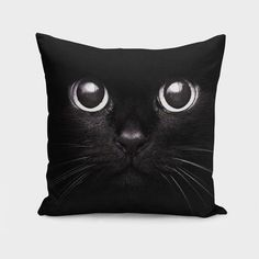 Throw Pillow/Cushion Cover made from spun polyester poplin fabric, a stylish statement that will liven up any room. Individually cut and sewn by hand, the pillow cover measures 16 Cat Lover Gifts, Pet Gifts, Cat Lovers, Throw Pillow Cases, Pillow Covers, Throw Pillows, Thug Life, Cat Cushion, Cushion Pillow