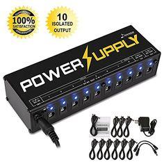 Donner DP-1 Guitar Pedal Power Supply 10 Isol...   #external #MusicalInstruments