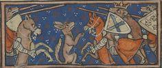 Manuscript     BNF Français 1581 Roman de Renart Folio     017r Dating     1275-1300 From     North, Francia Holding Institution   ...