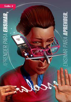Impressive selection of work by Brazilian artist Pedro Henrique Ferreira, aka Lambuja. More illustrations Visit his website Design Social, Web Design, Grid Design, Graphic Design, Digital Art Gallery, Branding, Magazine Design, Photo Manipulation, Great Artists