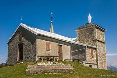 Chapelle Notre Dame d'Hermone. Jouvernaisinaz,. Rhône-Alpes