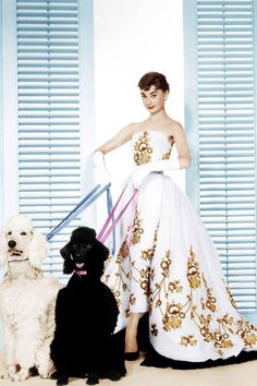 Audrey wearing Edith