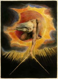 William Blake Ancient Of Days Classic Art Print William Blake Paintings, Genesis Creation, Tropical Art, Oil Painting Reproductions, Red Dragon, Magritte, Romanticism, British Museum, Find Art