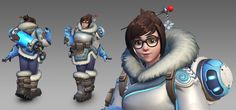 Mei - Character created for the game Overwatch (Ⓒ Blizzard Entertainment).  Additional credits : Original concept art : Arnold Tsang Weapon model/texture : Kyle Rau Rigging : Dylan Jones Animation : David Gibson/Jesse Davis