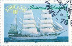 Briefmarke-Europa-Westeuropa-Frankreich-0.15-1999-Statsraad Lehmkuhl