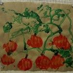 Fist Pumpkin Prints